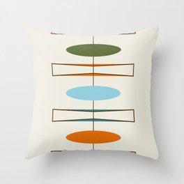 Mid-Century Modern Art 1.2 Throw Pillow