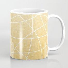 Scribble Linen - Sunflower Yellow Coffee Mug
