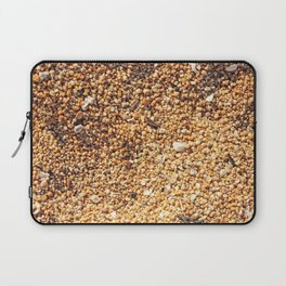 True grit - coarse sand Laptop Sleeve
