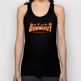 BURNOUT BEACH Unisex Tank Top