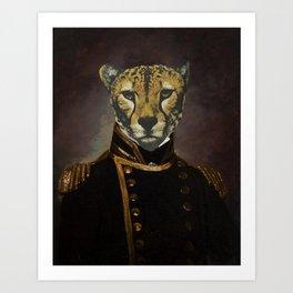 Commodore Cheetah Art Print