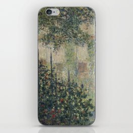 Camille Monet in the Garden at Argenteuil iPhone Skin