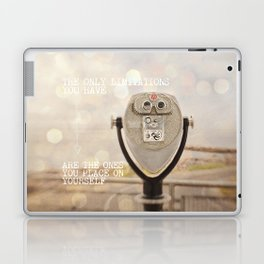 the only limitations you have Laptop & iPad Skin