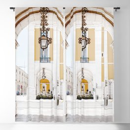 Arco da Rua Augusta Art Print | Travel Photography | Arco da Rua Augusta Lisbon Portugal Blackout Curtain