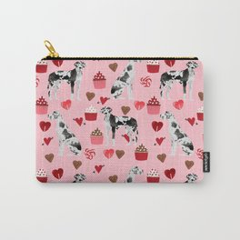 Great Dane valentines day dog person must have gifts to say i ruff you Carry-All Pouch