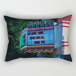 Maumee Movie Theater I Rectangular Pillow