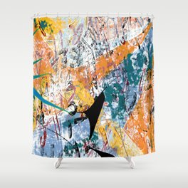 Augmented Ghosts  Shower Curtain