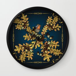 History of the autumn forest_3 Wall Clock