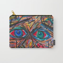 Unsettled Eyes Carry-All Pouch