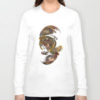 baroque Long Sleeve T-shirts featuring Baroque by Tobias Bowman