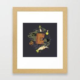 Booooook! (It's Just a Bunch of Hocus Pocus) Framed Art Print