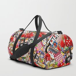 Gamblers Delight - Las Vegas Icons Duffle Bag
