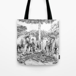 Rescued Tote Bag