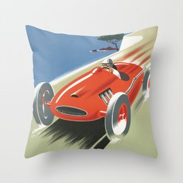 Cote D'Azur Throw Pillow