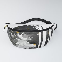 Night Forest Journey Fanny Pack