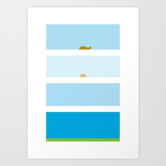 An Open Window Art Print