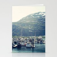 marina and the diamonds Stationery Cards featuring Marina by Megan