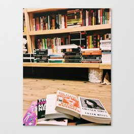 Books in the West Village Canvas Print
