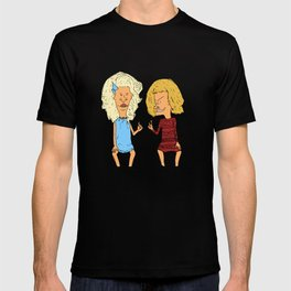 Beavis Mattel and Butthead Zamolodchikova T-shirt
