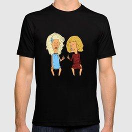 Beavis Mattel and Butthead Zamolodchikova T-shirt