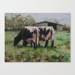 Tails Canvas Print