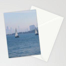 Sailboats Stationery Cards