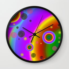 Mod Space Wall Clock
