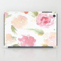 """hawaiian iPad Cases featuring """"Hawaiian"""" by  Tori Wise Watercolors"""