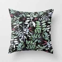 Nature in dark Throw Pillow