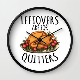 Thanksgiving Day Turkey Gift for Fall Holiday Light Wall Clock