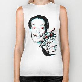 Salvador Dalí Biker Tank
