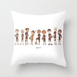 haikyuu!! Throw Pillow
