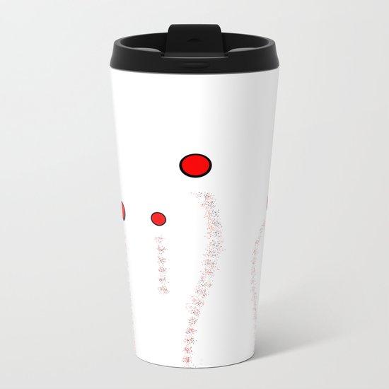 Dots Metal Travel Mug