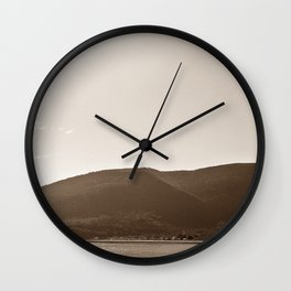 Gaspesie Coast Wall Clock