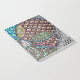 Colorful Overlapping Circles Notebook