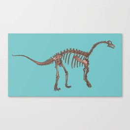 Young Dinosaur Canvas Print