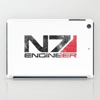 engineer iPad Cases featuring Alt Engineer by Draygin82