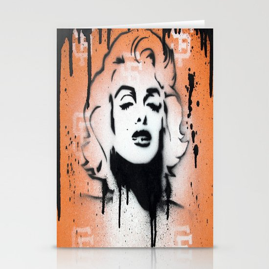 SF Giants x Marilyn Monroe by Adam Valentino  Stationery Cards