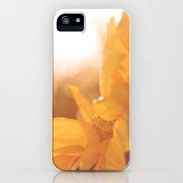 Sun Flare Sunflower iPhone Case