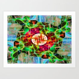 Cerebrum Art Print