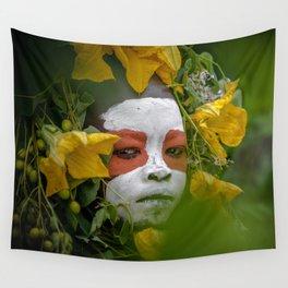 Suri Green Wall Tapestry