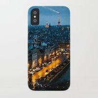 paris iPhone & iPod Cases featuring Paris by Luca Spanu