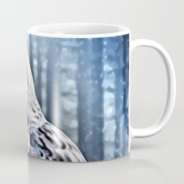 OWL IN THE FOREST Coffee Mug