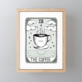 The Coffee Framed Mini Art Print