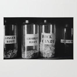 Vintage Store Jars Rug