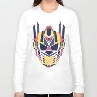transformer Long Sleeve T-shirts featuring Prime by Fimbis