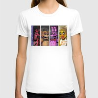 fnaf T-shirts featuring Five nights at Freddy's by Garvals