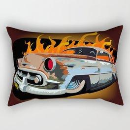 Caddy Rat Rod Rectangular Pillow
