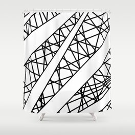 Lazer Dance X Shower Curtain
