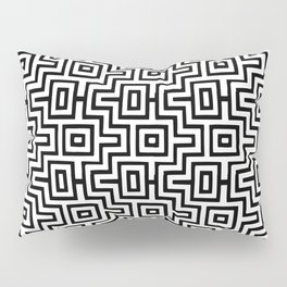 Black & White Choctaw Pattern Pillow Sham